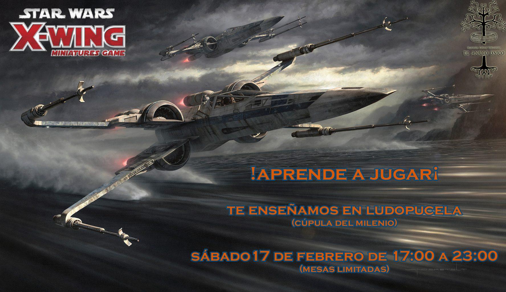 X-wing aprende Ludopucela 2018